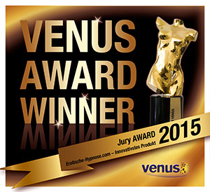 Venus Award 2015 für das innovativste Produkt der Erotik-Branche