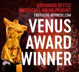 Venus Award 2019 für das beste erotische Hypnoseprodukt